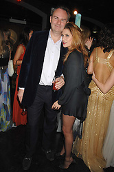 WILLIAM CASH & VANESSA NEUMANN at Andy & Patti Wong's Chinese new Year party held at County Hall and Dali Universe, London on 26th January 2008.<br />