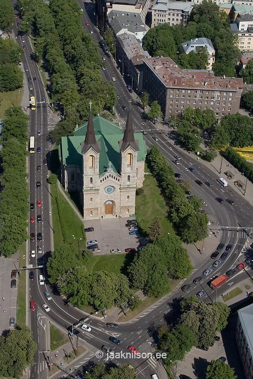 Charles XI Lutheran Church-Kaarli Kirik in Tallinn, Estonia