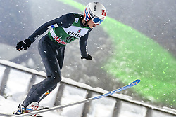 February 8, 2019 - Lahti, Finland - Halvor Egner Granerud participates in FIS Ski Jumping World Cup Large Hill Individual training at Lahti Ski Games in Lahti, Finland on 8 February 2019. (Credit Image: © Antti Yrjonen/NurPhoto via ZUMA Press)