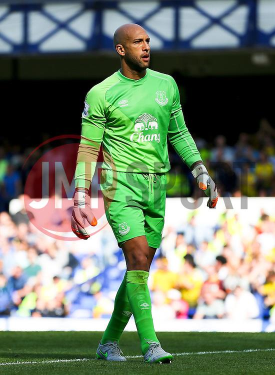 Everton's Tim Howard  - Mandatory byline: Matt McNulty/JMP - 07966386802 - 08/08/2015 - FOOTBALL - Goodison Park -Liverpool,England - Everton v Watford - Barclays Premier League