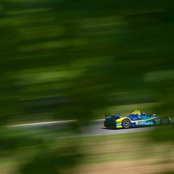 July 6, 2012 - The PR1 Mathiasen Motorsports Oreca FLM09 driven by Butch Leitzinger and Ken Dobson during the American Le Mans Northeast Grand Prix weekend at Lime Rock Park in Lakeville, Conn.