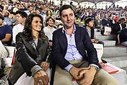 DESCRIZIONE : Campionato 2014/15 Virtus Acea Roma - Enel Brindisi<br /> GIOCATORE : Dejan Bodiroga<br /> CATEGORIA : Spettatori Pubblico VIP<br /> SQUADRA : Virtus Acea Roma<br /> EVENTO : LegaBasket Serie A Beko 2014/2015<br /> GARA : Virtus Acea Roma - Enel Brindisi<br /> DATA : 19/04/2015<br /> SPORT : Pallacanestro <br /> AUTORE : Agenzia Ciamillo-Castoria/GiulioCiamillo