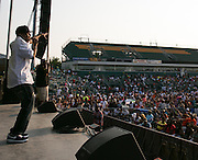 Rob Base performs at Rochester Summer Fest at Sahlen's Stadium in Rochester on Saturday, July 11, 2015.