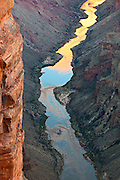 The Colorado River as viewed from Toroweap. Grand Canyon National Park.