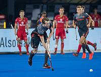 BHUBANESWAR, INDIA -  Seve van Ass (Ned)   tijdens de  finale tussen België en Nederland bij het WK Hockey heren in het Kalinga Stadion. COPYRIGHT KOEN SUYK