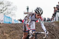 Sanne Cant (BEL), Women, Cyclo-cross World Cup Hoogerheide, The Netherlands, 25 January 2015, Photo by Pim Nijland / PelotonPhotos.com