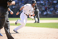 CHICAGO - JUNE 14:  Adam Eaton of the Chicago White Sox runs the bases against the Kansas City Royals on June 14, 2014 at U.S. Cellular Field in Chicago, Illinois.   (Photo by Ron Vesely)
