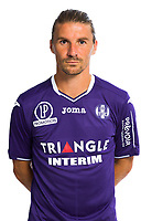 Yannick Cahuzac during Photoshooting of Toulouse for new season 2017/2018 on September 29, 2017 in Bordeaux, France. <br /> Photo : TFC / Icon Sport