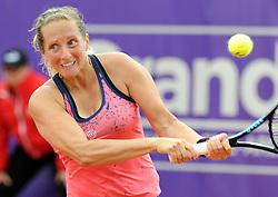 May 20, 2018 - France - Internationaux de tennis de Strasbourg - Reka Luca Jani Hongrie (Credit Image: © Panoramic via ZUMA Press)