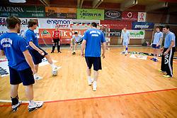 Men team at practice of Slovenian Handball men National Team, on June 3, 2009, in Arena Kodeljevo, Ljubljana, Slovenia. (Photo by Vid Ponikvar / Sportida)