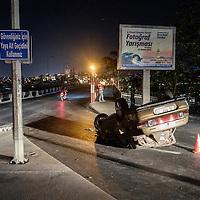 I car was shot on the way to taksim