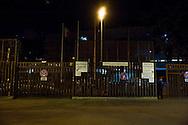 Roma 10 Marzo 2012.Presidio a piazzale Clodio davanti al Tribunale in occasione del processo ai 4 arrestati per la protesta al CIPE. L'ingresso del Tribunale