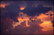 Cumulus, Wolken, Zeichen, bilder, ciel, himmel, lettres, nuages, orange, signs, sky,
