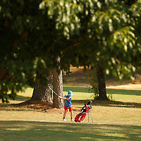Thomas Wells | Buy at PHOTOS.DJOURNAL.COM<br /> Brooks Waldrop, 11, hits his second shot to the sixth green at Bel-Air Golf Course Wednesday.