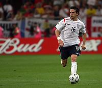 Photo: Chris Ratcliffe.<br /> England v Portugal. Quarter Finals, FIFA World Cup 2006. 01/07/2006.<br /> Owen Hargreaves of England.