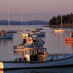 Fishing boats in Bar Harbor. Bar Harbor, ME