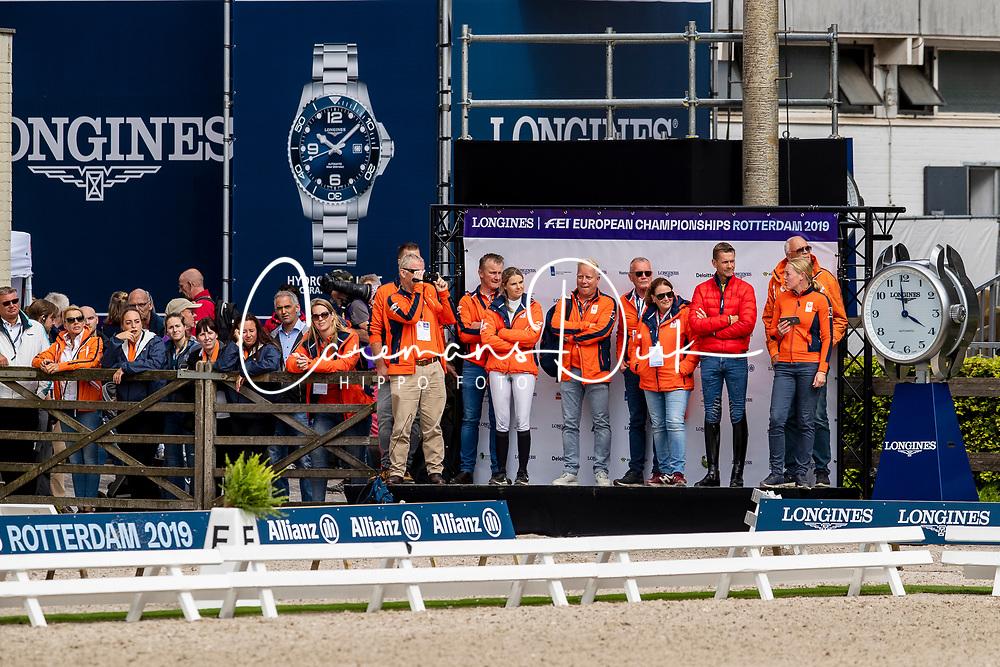 DodderMinderhoud Hans Peter, NED, Glock's Dream Boy<br /> European Championship Dressage<br /> Rotterdam 2019<br /> © Hippo Foto - Dirk Caremans<br /> Minderhoud Hans Peter, NED, Glock's Dream Boy