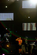 Belo Horizonte_MG, Brasil...Show da banda americana Black Eyed Peas no 2o dia do Pop Rock Brasil no Mineirao. Na foto a cantora Fergie...Show of the Amercian band Black Eyed Peas in the second day of Pop Rock Brazil on Mineirao. In this photo the singer Fergie...Foto: LEO DRUMOND / NITRO
