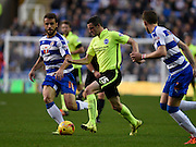 Brighton goalscorer Jamie Murphy on the ball during the Sky Bet Championship match between Reading and Brighton and Hove Albion at the Madejski Stadium, Reading, England on 31 October 2015. Photo by David Charbit.