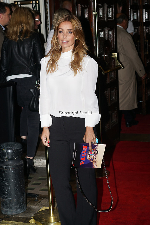Phoenix Theatre, London,UK. 2nd August 2017. Louise Redknapp attends Evita - Press Night.