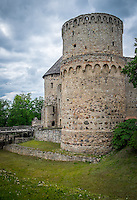 LATVIA, CESIS - CIRCA JUNE 2014: The Cesis Castle, (Wenden) in Latvia