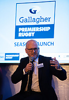 Football - 2019 / 2020 Gallagher Premiership Rugby - New Season Launch Media Photocall<br /> <br /> Darren Childs Premiership Rugby's CEO during an open media session, at Twickenham.<br /> <br /> COLORSPORT/ASHLEY WESTERN