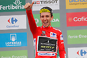Simon Yates (GBR - Mitchelton - Scott) Podium during the 73th Edition of the 2018 Tour of Spain, Vuelta Espana 2018, 20th stage Andorra Escaldes Engordany - Coll de la Gallina 97.3 km on September 15, 2018 in Spain - Photo Luca Bettini / BettiniPhoto / ProSportsImages / DPPI