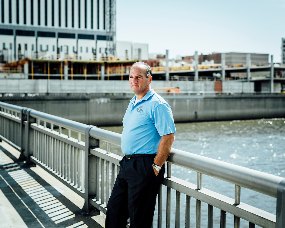 """Mayor Ron Corbett, Cedar Rapids, Iowa, USA.  """"I lost 9 square miles of my city."""" 