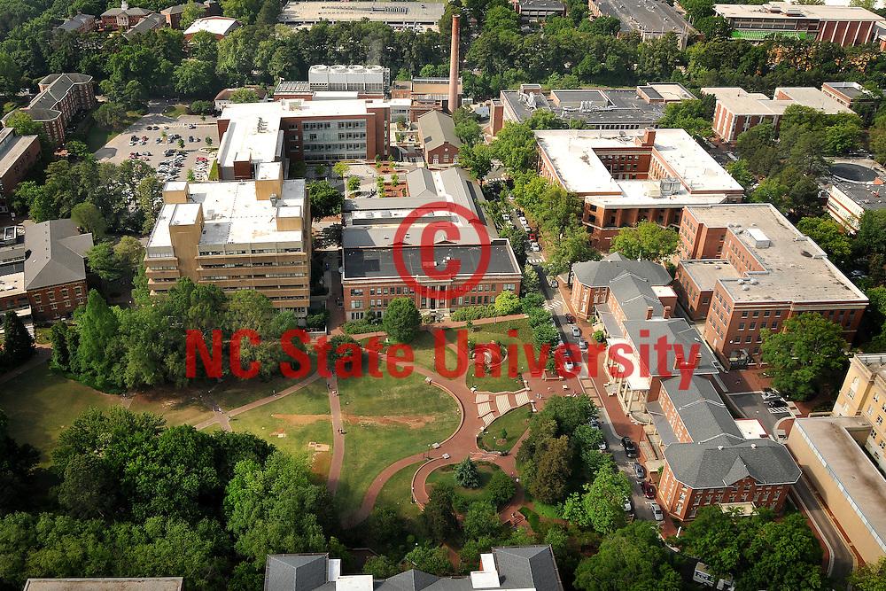 Aerial of main campus.