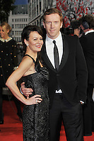 Helen McCrory and Damian Lewis..'Hugo in 3D' Royal Premiere, Odeon Cinema, Leicester Square, London, England. 28 November 2011. Contact: rich@piqtured.com  +(0)7941 079620 (Picture by Awais Butt)
