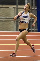 The 108th Millrose Games Track & Field: Women's Club Distance Medley Relay, Esther Erb, NYAC