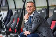 NIJMEGEN- 07-05-2017, NEC - AZ,  Stadion De Goffert, AZ trainer John van den Brom