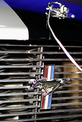 08 February 2007: 2007 Ford Mustang Shelby GT hood pin, grille and badge. The Chicago Auto Show is a charity event of the Chicago Automobile Trade Association (CATA) and is held annually at McCormick Place in Chicago Illinois.