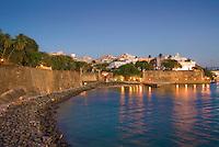 San Juan or Main Gate at dusk