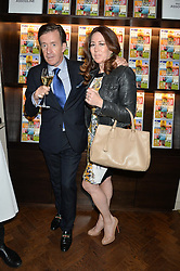 JOHN STODDART and ALEXANDRA NAYLOR at the launch of 'Certified Indigenous' with Assouline and The Luxury Collection held at Maison Assouline, Piccadilly, London on 13th May 2015.