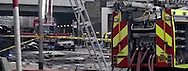"""16.01.2013, London: HELICOPTER CRASH .Scene from the helcopter crash that killed two people and injured 12 others when it hit a crane on top of a tower block by the River Thames during the morning rush hour in Central London..MANDATORY PHOTO CREDIT: NEWSPIX INTERNATIONAL..**ALL FEES PAYABLE TO: """"NEWSPIX INTERNATIONAL""""**..IMMEDIATE CONFIRMATION OF USAGE REQUIRED:.Newspix International, 31 Chinnery Hill, Bishop's Stortford, ENGLAND CM23 3PS.Tel:+441279 324672  ; Fax: +441279656877.Mobile:  07775681153.e-mail: info@newspixinternational.co.uk"""