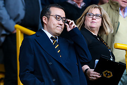 Wolverhampton Wanderers chairman Jeff Shi - Mandatory by-line: Robbie Stephenson/JMP - 19/08/2019 - FOOTBALL - Molineux - Wolverhampton, England - Wolverhampton Wanderers v Manchester United - Premier League