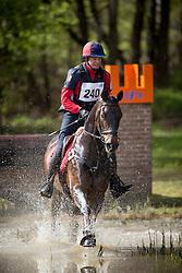 De Cleene Wouter, (BEL), Boy<br /> Nationale Finale AVEVE Eventing Cup Paarden <br /> Minderhout 2016<br /> © Hippo Foto - Dirk Caremans<br /> 24/04/16