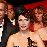 NLD/Utrecht/20101001 - NFF 2010 - Gouden Kalveren 2010 uitreiking, Barry Atsma en Carice van Houten