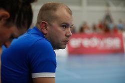 20190424 NED: Sliedrecht Sport - VC Sneek: Sliedrecht<br /> Frank Vlot of Sliedrecht Sport <br /> ©2019-FotoHoogendoorn.nl / Pim Waslander
