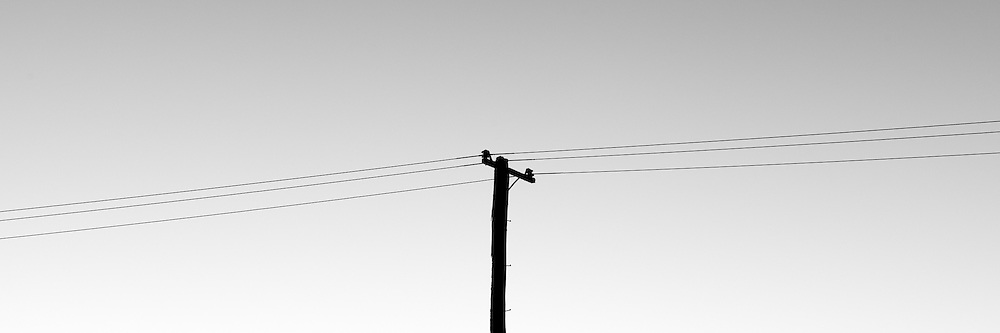 Power pole, Morpeth, Hunter Valley, Australia