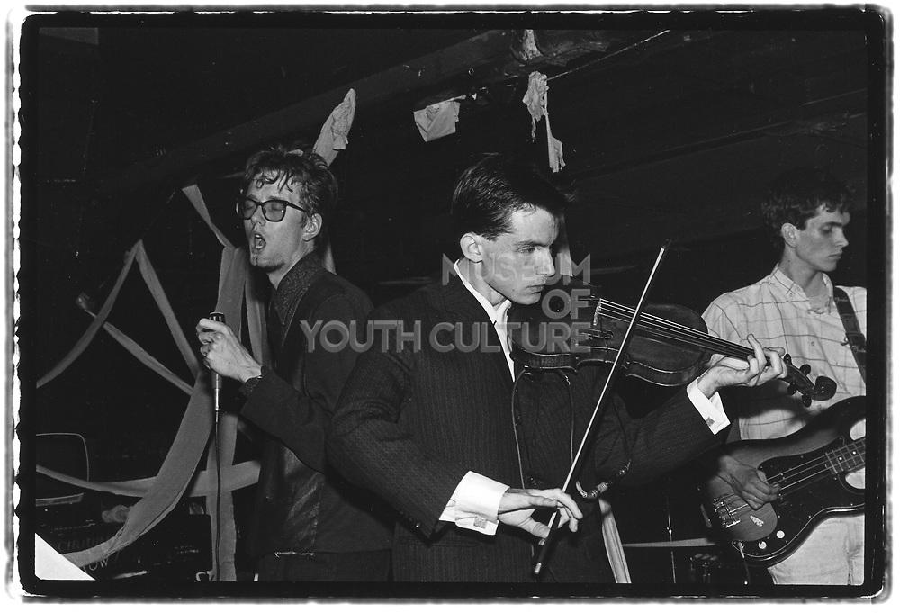 Pulp @ The Thekla, Bristol, 1986