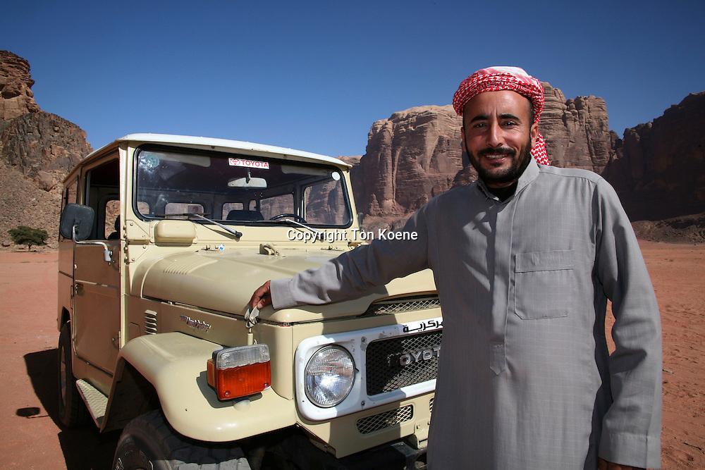 Visitors can tour Wadi Rum by car, Jordan