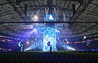 Fussball Internationales Freundschaftsspiel    Testspiel           FC Schalke 04 - Zenit Sankt Petersburg Praesentation des neuen Trikot von Schalke 04 mit Gazprom Logo.