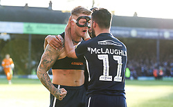 Stephen Humphrys of Southend United celebrates scoring to make it 2-1 - Mandatory by-line: Arron Gent/JMP - 04/05/2019 - FOOTBALL - Roots Hall - Southend-on-Sea, England - Southend United v Sunderland - Sky Bet League One