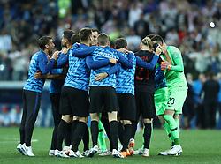 June 21, 2018 - Nizhny Novogorod, Russia - Group D Argentina v Croazia - FIFA World Cup Russia 2018.Croatia celebrates the victory at Nizhny Novgorod Stadium, Russia on June 21, 2018. (Credit Image: © Matteo Ciambelli/NurPhoto via ZUMA Press)
