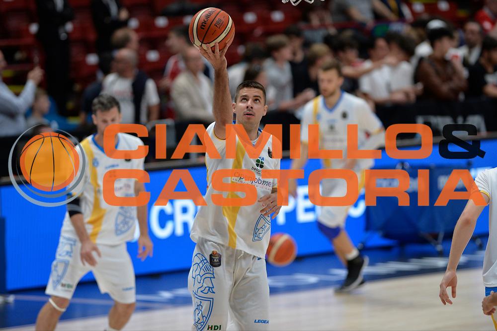 Vojislav Stojanovic<br /> Olimpia EA7 Emporio Armani Milano vs Vanoli Cremona<br /> Lega Basket Serie A 2016/2017<br /> PlayOff semifinale gara 2<br /> Milano 14/05/2017<br /> Foto Ciamillo-Castoria / I.Mancini