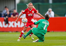 Claire Emslie of Bristol City Women scores a goal to make it 2-1 - Mandatory byline: Rogan Thomson/JMP - 09/07/2016 - FOOTBALL - Stoke Gifford Stadium - Bristol, England - Bristol City Women v Milwall Lionesses - FA Women's Super League 2.
