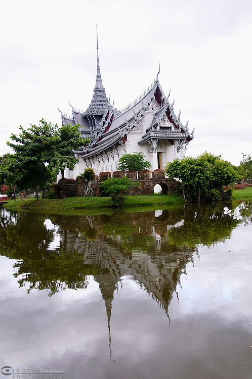 Grand Palace of Ayutthaya replica, Ancient Siam, Thailand