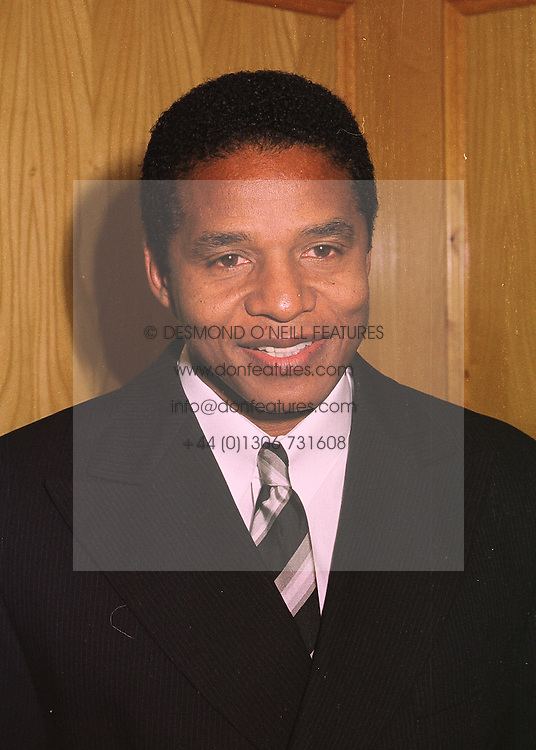 JACKIE JACKSON brother of singer Michael Jackson, at a dinner in London on 27th April 1998.MHD 37